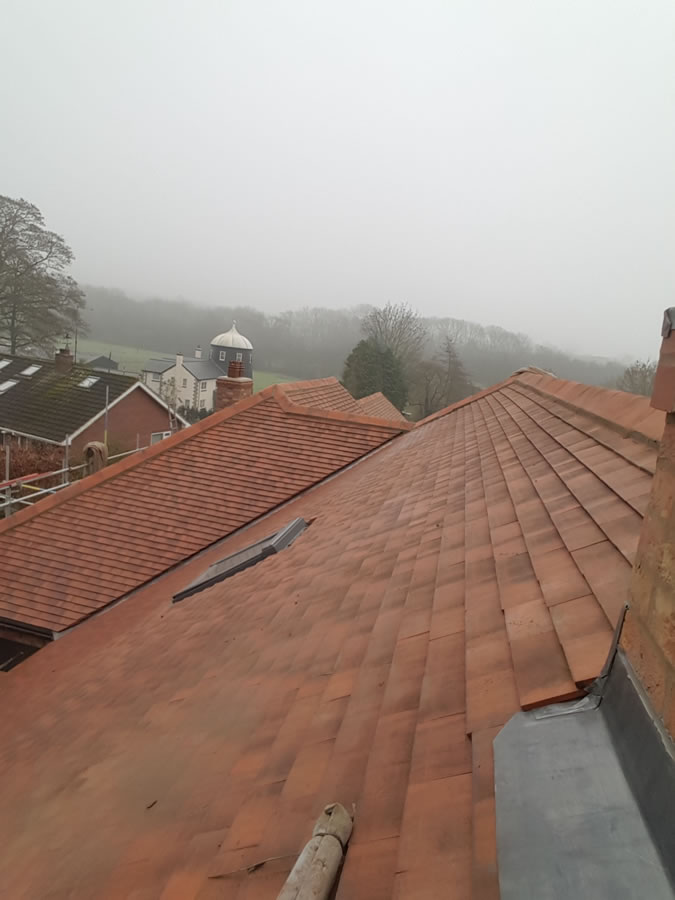Case Study New Build In Goodmanham P A Turner Roofing